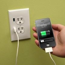 USB прямо в стене
