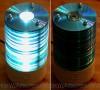 Как сделать лампу из дисков