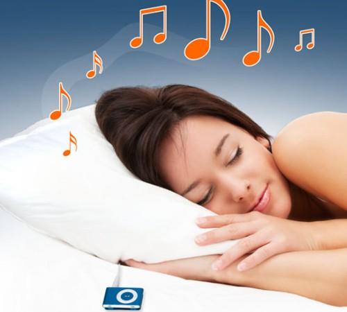 Подушка с MP3 плеером