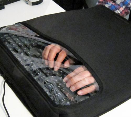Шумоизолятор для клавиатуры
