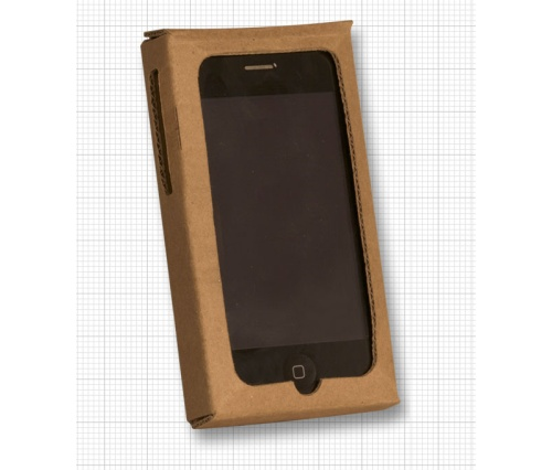 Бумажный чехол для iPhone