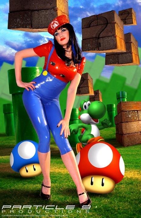 Соблазнительный костюм Super Mario