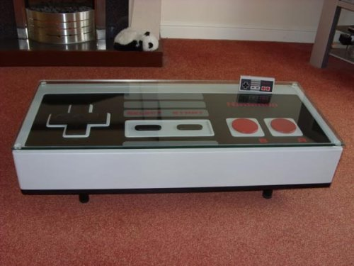 Кофейный столик с кнопками