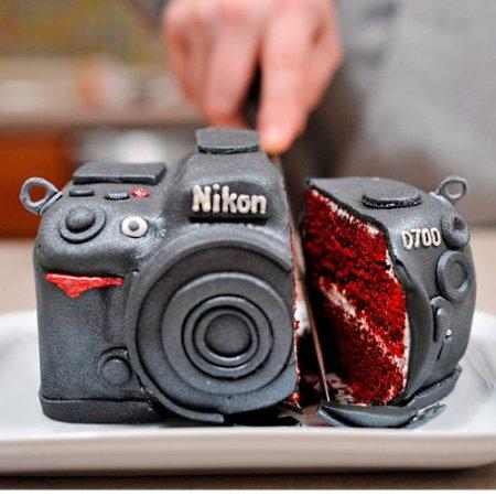 Торт из Nikon D700