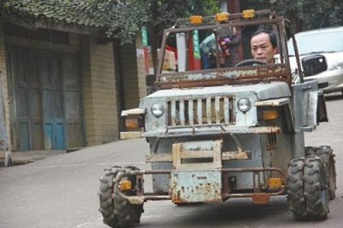 Как китаец сделал свой Хаммер