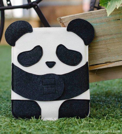 iPad панда кейс