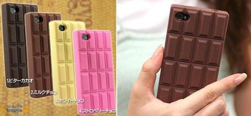 Шоколадный чехол для айфона