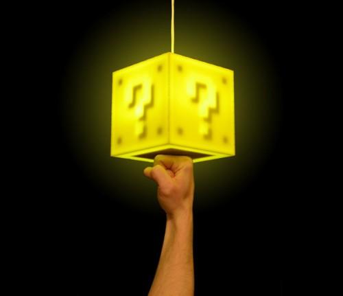 LVL Up лампа