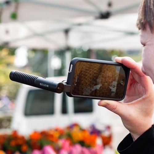 Направленный микрофон для мобильных гаджетов