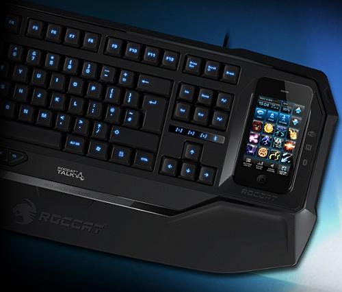 Клавиатура Roccat с док-станцией для смартфона