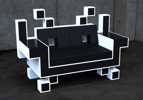 Кресло ретро-пришелец