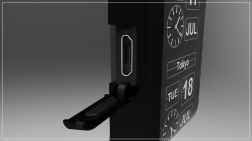 oNe часы виртуального дизайна