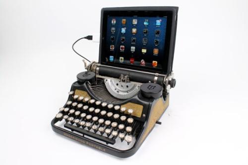 USB клавиатура из печатной машинки