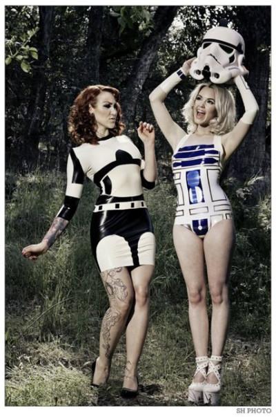 Аппетитный костюм R2D2 для твоей подружки