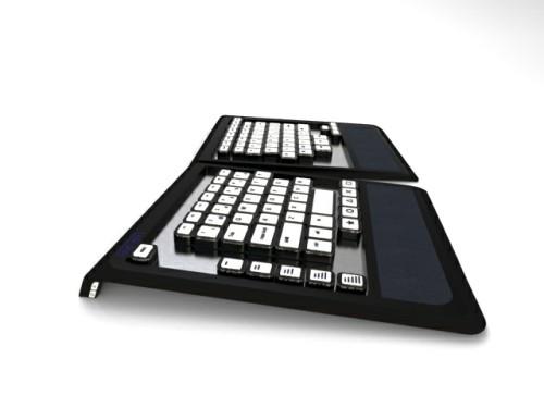 Самая эргономичная клавиатура CUS KEY