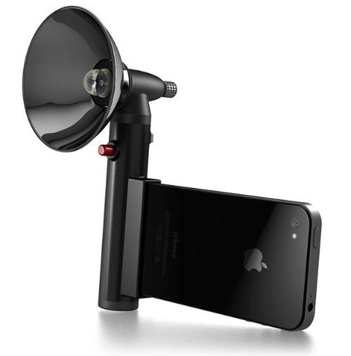 Ретро-вспышка для айфонов