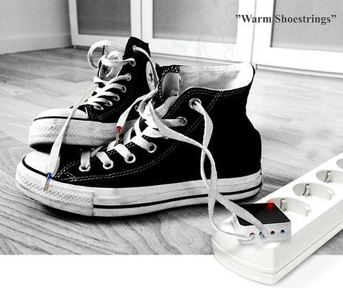 Шнурки с подогревом