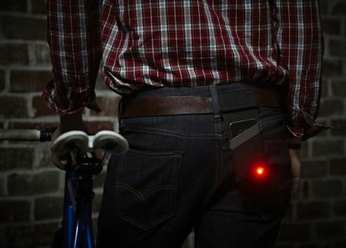 Велосипедный фонарик из айфона
