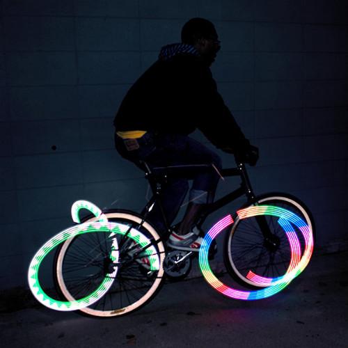 Делаем светосипед из велосипеда