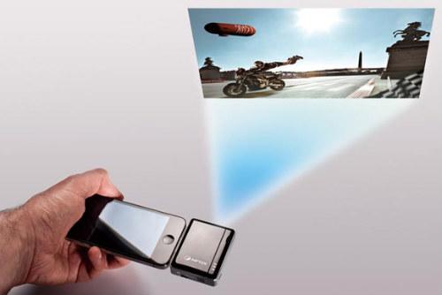 Мощный проектор для айфона