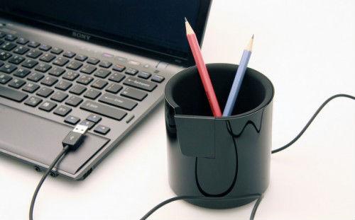 USB хаб для карандашей и прочих канцелярских мелочей