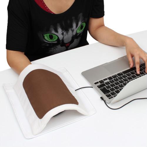 Мышиный коврик с муфтой и обогревателем