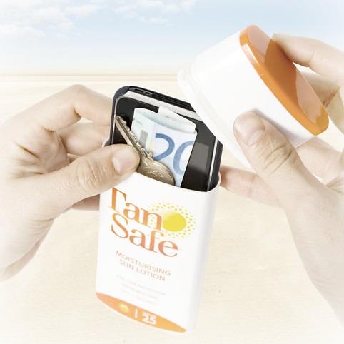 Как спрятать свой гаджет на пляже