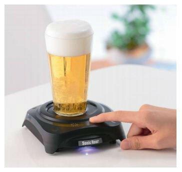 Ультразвуковой пивовспениватель