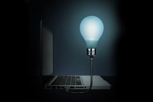 Тёплая ламповая подсветка от USB