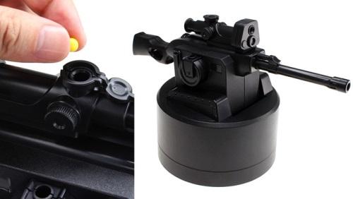 Миниатюрный снайперский комплекс с управлением по USB
